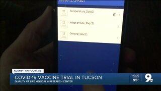 KGUN 9's Pat Parris shares COVID-19 vaccine trial experience