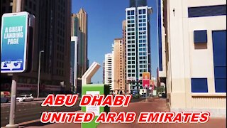 HOW LOOK ABU DHABI - UNITED ARAB EMIRATES (UAE) | أبو ظبي