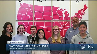 Five Union High School Seniors Selected as National Merit Finalists