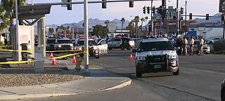 Police looking for suspect on Boulder Highway