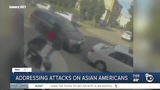 Addressing attacks on Asian Americans