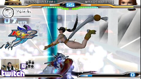 (PS2) KOF Maximum Impact 2 - 24 - Hard Challenge - Level 5