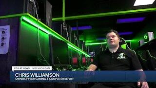 Chris Williamson, owner of Fyber Gaming & Computer Repair