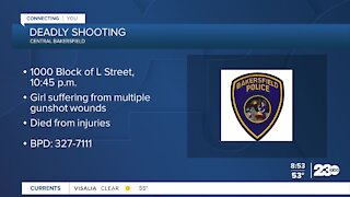 Deadly shooting in central Bakersfield