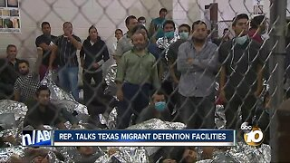 Rep. Scott Peters describes conditions in Texas migrant detention facility