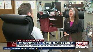 Tulsa Public Schools heading back to school with teacher shortage