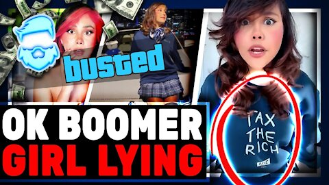 OK Boomer Girl BUSTED Lying About 2 Million Dollar Apartment & ROASTED By Fellow Streamers
