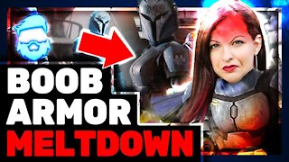 Instant Regret! Anita Sarkeesian DESTROYED By Female Mandalorian Fans For ABSURD Complaint