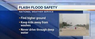 Flash flood season begins today