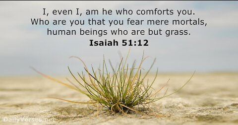 Fear God and Not Men - A Word of Encouragement To The Remnant