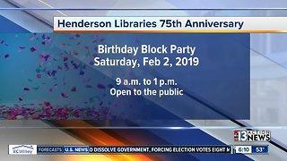 Henderson Libraries celebrating 75th anniversary