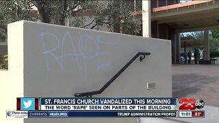 St. Francis Church Vandalized