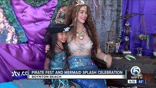 Pirate fest and mermaid splash celebration held in Boynton Beach