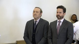 Kevin Spacey Appears In Massachusetts Court For Sexual Assault Charge