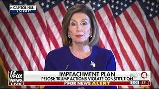 House Speaker Nancy Pelosi announces a formal impeachment inquiry