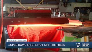 Local company gets creative with Bucs' Super Bowl apparel