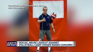 Volleyball coach named in sexual abuse lawsuit has metro Detroit camp scheduled