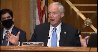 Sen. Ron Johnson Destroys Sen. Peters on Democrat Hack at Election Fraud Hearing