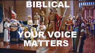 BIBLICAL - YOUR VOICE MATTERS   EP.3