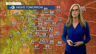 Weekend forecast: heating up