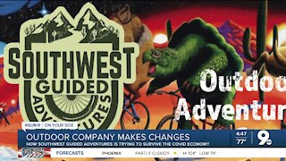 COVID economy is forcing outdoor adventure company to make changes