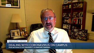 U-M President Mark Schlissel: Research teams are testing COVID-19 vaccines & new antibody treatment