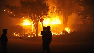 Wildfires Ravage The Pacific Northwest