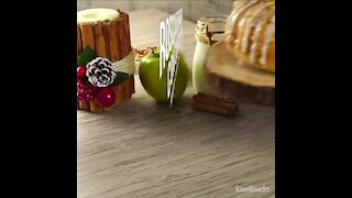 Apple Thread with Cream Cheese