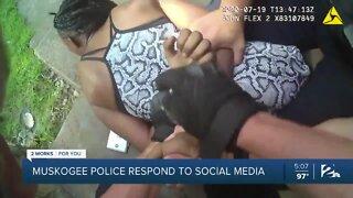 Muskogee police respond to social media