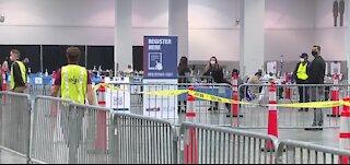 Look inside Las Vegas Convention Center vaccine clinic