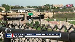 Combating human trafficking during the 2020 DNC