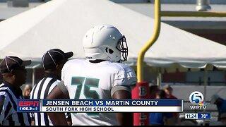 Jensen Beach vs Martin County