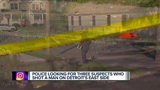 Man shot, killed on Detroit's east side