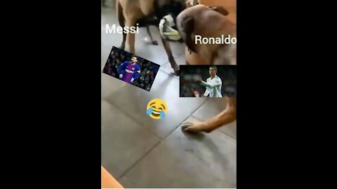 Ronaldo and Messi battle for the Ballon d'Or