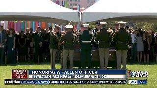 Memorial set to honor fallen Las Vegas officers