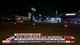 Fatal hit-and-run in East Bakersfield