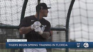 Tigers begin Spring Training in Florida
