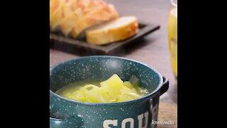 Poro Soup and Traditional Potato
