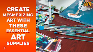 Top 4 Essential Art Supplies Every Artist Must Have