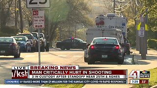 Early morning standoff ends for KCPD