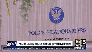 Phoenix police union looking into social media scrubbing service for officers