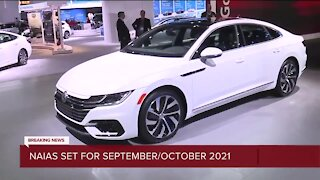 North American International Auto Show moving to September & October in 2021