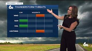 Rachel Garceau's Idaho News 6 forecast 7/7/21