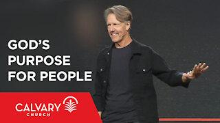 God's Purpose for People - Genesis 1-3 - Skip Heitzig
