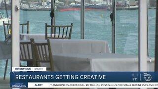 Restaurants get creative under indoor restrictions