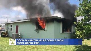 Good samaritan in Punta Gorda rescues woman from burning home