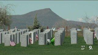 Arizona Veterans Memorial Cemetery holds dedication ceremony of Bronze Eagle statue