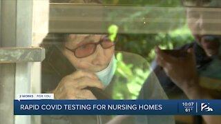 Rapid COVID-19 testing for nursing homes
