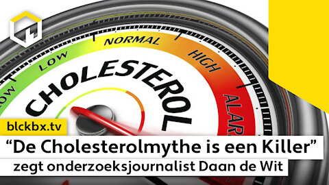 """""""De Cholesterol-Mythe is een killer"""", zegt onderzoeksjournalist Daan de Wit in opzienbarend boek…"""