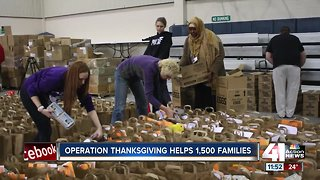 Operation Thanksgiving helps 1,500 families